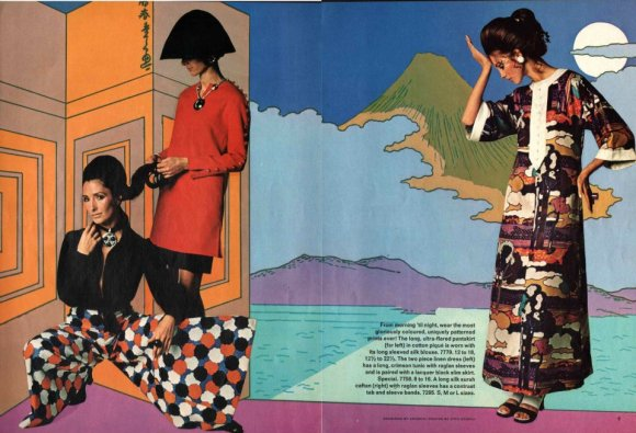 Antonio Lopez in Vogue