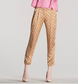 Robert Rodriguez Polka Dot Pants